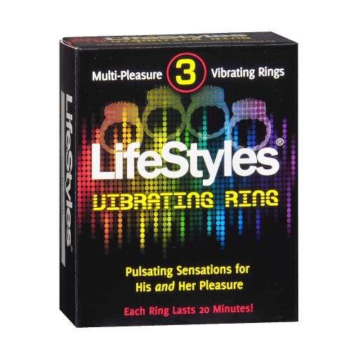 LifeStyles 震动环 3个装