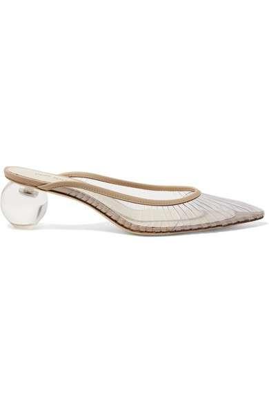 CULT GAIA Alia 有机塑胶皮革穆勒鞋
