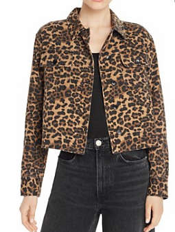 AQUA 豹纹外套