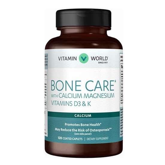 骨骼护理 含钙镁维生素D3和K