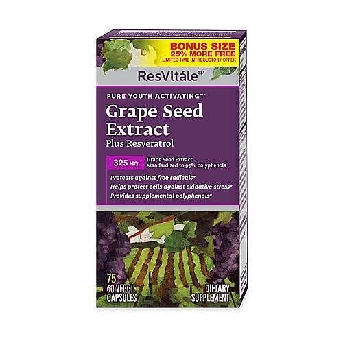 葡萄籽提取物+白藜芦醇