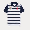 Ralph Lauren 大童款条纹短袖