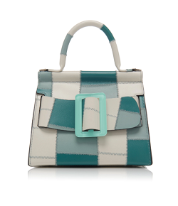 BOYY Karl 24 Buckled Patchwork-Effect Leather Tote