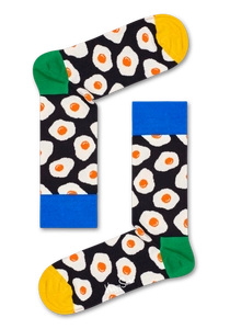 太阳蛋图案袜子