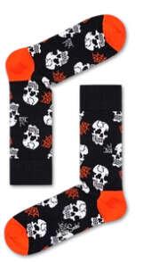 万圣节骷髅图案袜子
