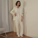 Mango Recycled wool suit blazer 可循环羊毛西装外套