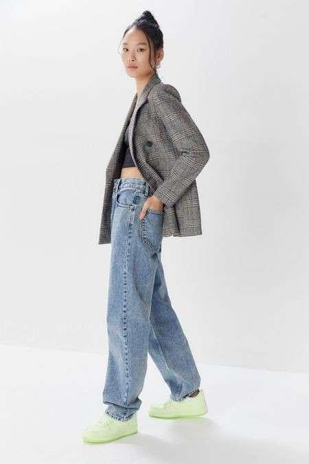 Baggy 高腰牛仔裤