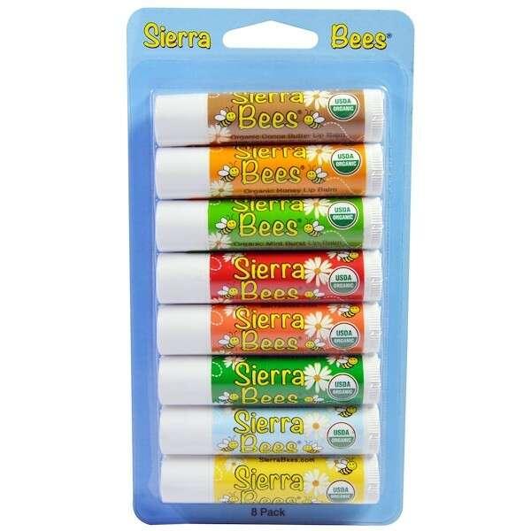 Sierra Bees有机天然唇膏