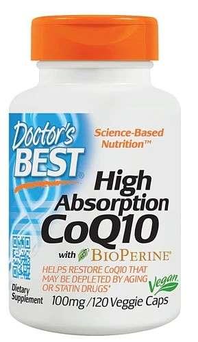 Doctor's Best  CoQ10 辅酶+双哌啶