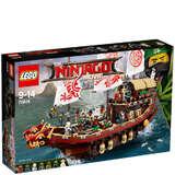 免邮中国!LEGO 乐高幻影忍者系列-命运赏赐号 (70618)