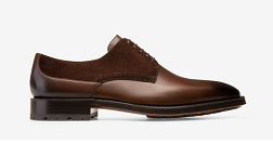 MEN'S CALF LEATHER DERBY SHOE