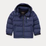 Ralph Lauren 大童款藏青色厚夹克