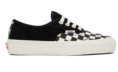 Black & White Check OG Authentic LX Sneakers
