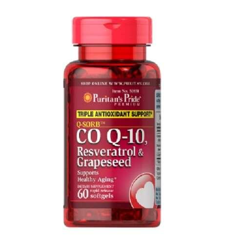 辅酶COQ10+白藜芦醇&葡萄籽