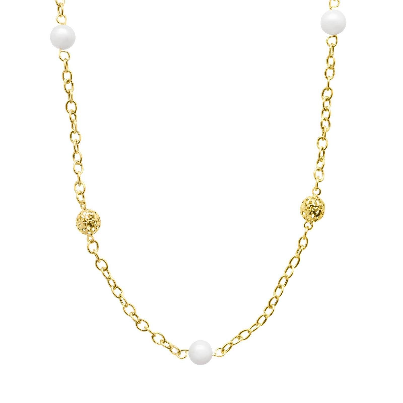 7mm珍珠项链
