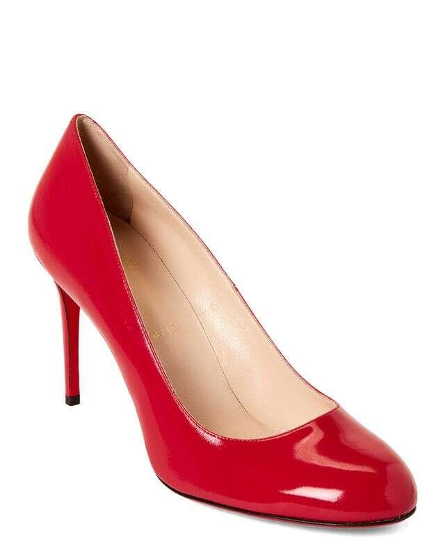 Fuchsia Fifi 漆皮高跟鞋
