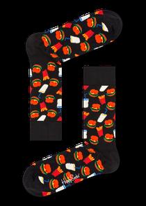 汉堡图案袜子