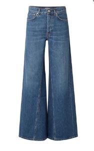 高腰喇叭裤