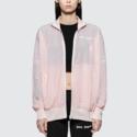 PALM ANGELS 宽松粉色运动外套