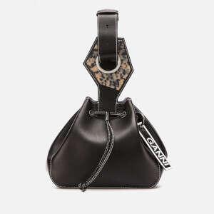 Leather Drawstring 手提包