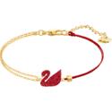 Swarovski Iconic 限定红天鹅手链