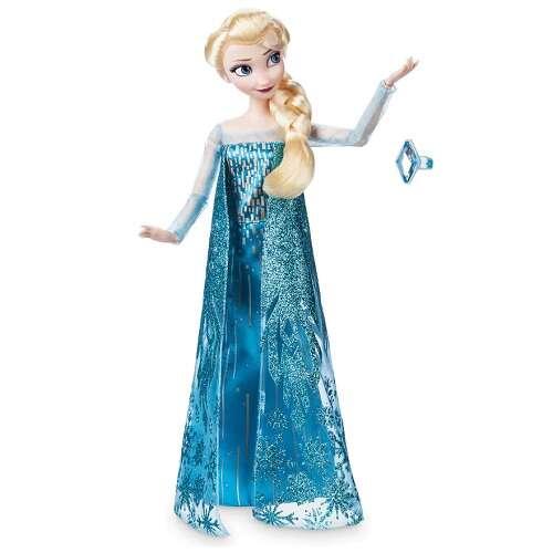 Elsa 艾莎经典娃娃+戒指