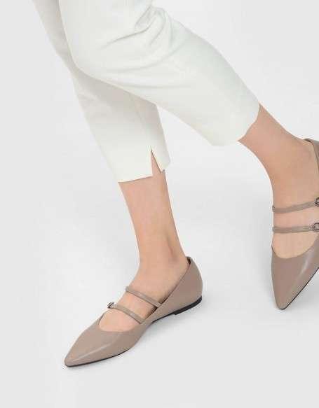 尖头玛丽珍鞋