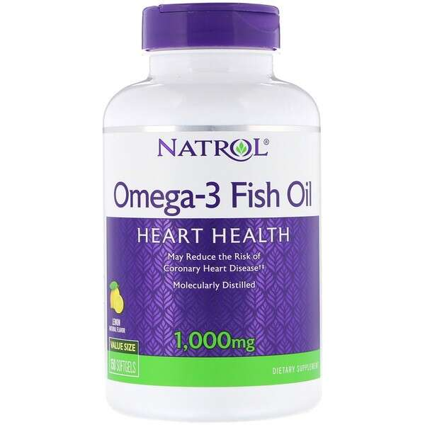 Natrol Omega-3 鱼油