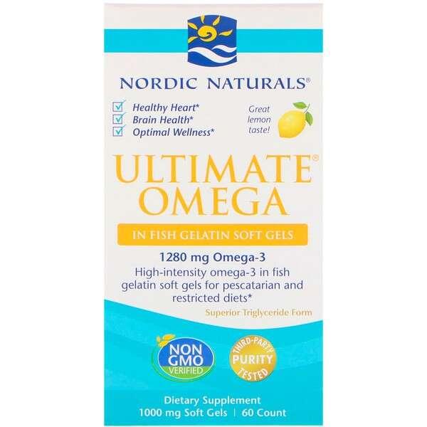 Nordic Naturals Omega 柠檬