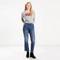 Levi's 女士复古直筒牛仔裤