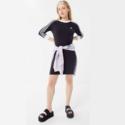 adidas 阿迪达斯三叶草 3-Stripes Bodycon 运动连衣裙