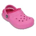 Crocs 卡骆驰 Classic Fuzz-Lined Clog 儿童加绒洞洞鞋