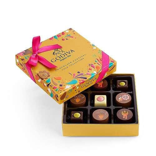 巧克力金色礼盒