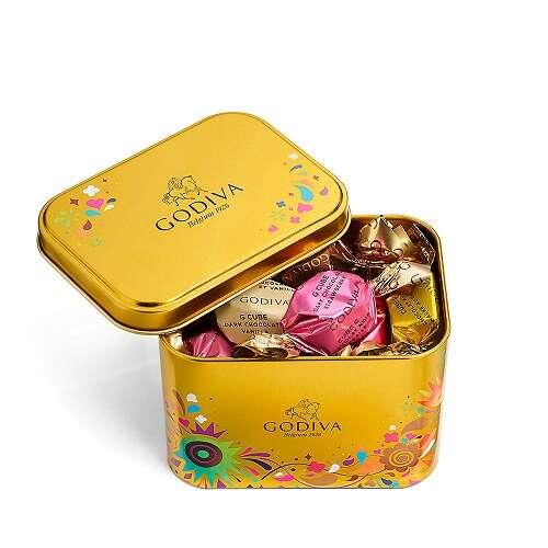 什锦巧克力G立方盒