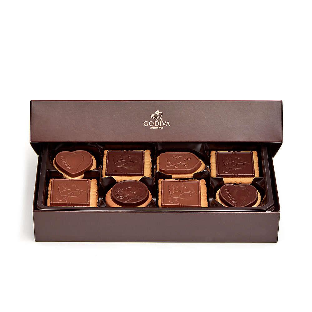 什锦巧克力饼干礼盒