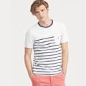 Ralph Lauren Custom Striped Tee 拉夫劳伦男士条纹T恤