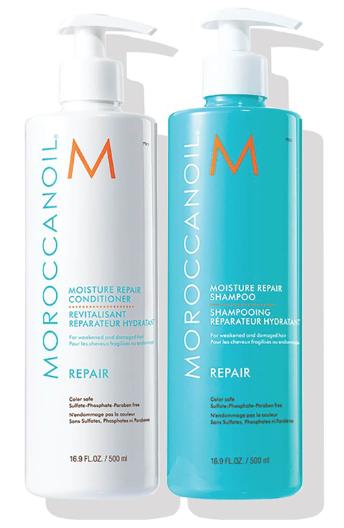 补水修护洗发水护发素套装