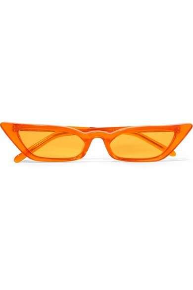 POPPY LISSIMAN Le Skinny 猫眼板材太阳镜