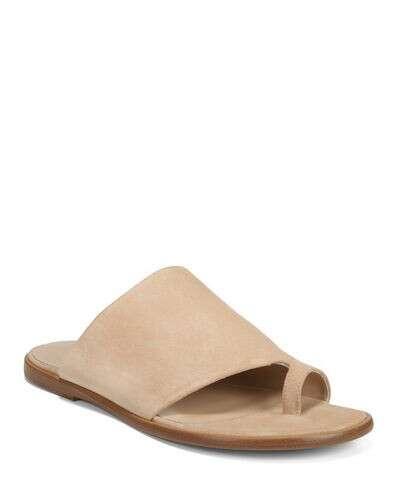 Vince Edris Flat Sport Suede Slide Sandals